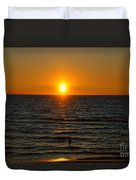 Sundown Admiration Duvet Cover