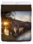 Sundown Bridge Duvet Cover