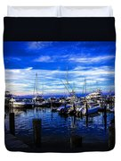 Sundown In Sag Harbor Duvet Cover