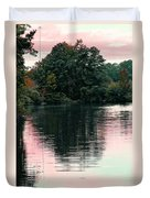 Sundown Just This Side Of The City Duvet Cover