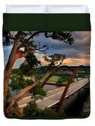 Sundown On Pennybacker 360 Duvet Cover