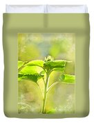 Sundrenched Sunflower - Digital Paint Duvet Cover