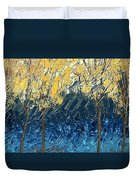 Sundrenched Trees Duvet Cover