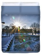 Sunflare At The Back Duvet Cover