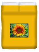 Sunflower - Paint Edition Duvet Cover