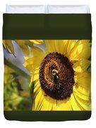Sunflower And Bee-3922 Duvet Cover