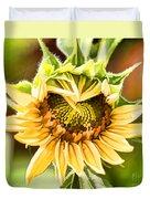 Sunflower Beauty - Painterly Duvet Cover
