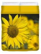 Sunflower Blossom Duvet Cover