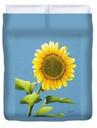 Sunflower Charm Duvet Cover