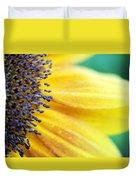 Sunflower Close Up Duvet Cover
