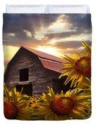 Sunflower Dance Duvet Cover