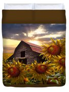Sunflower Dance Duvet Cover
