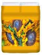 Sunflower Delight Duvet Cover