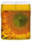 Sunflower Digital Painting Duvet Cover