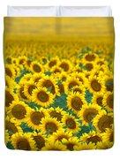 Sunflower Explosion Duvet Cover