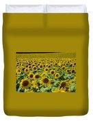 Sunflower Field Duvet Cover