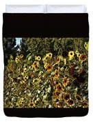 Sunflower Fields Forever Duvet Cover