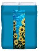 Sunflower Fun Duvet Cover