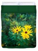 Sunflower Group Session Duvet Cover