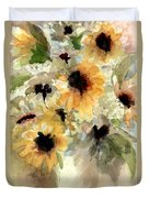 Sunflower Impressions Duvet Cover