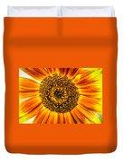 Sunflower Macro Duvet Cover