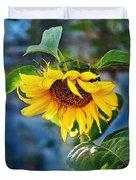 Sunflower Magic I Duvet Cover