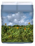 Sunflower Maze Duvet Cover