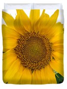Fibonacci In Full Bloom Duvet Cover