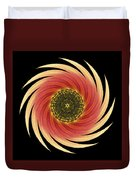 Sunflower Moulin Rouge Vii Flower Mandala Duvet Cover