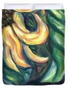 Sunflower One Panel Four Of Four Duvet Cover