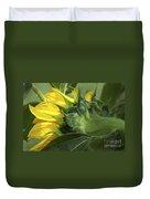 Sunflower Opening Duvet Cover