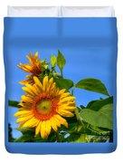 Sunflower Pair Duvet Cover