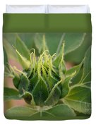 Sunflower Pod Duvet Cover