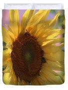 Sunflower Pop Duvet Cover
