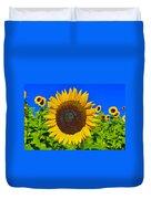 Sunflower Power Duvet Cover