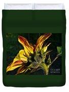 Sunflower Profile Duvet Cover