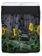 Sunflower Quartet Duvet Cover