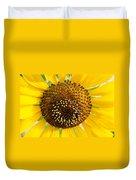 Sunflower Reproductive Center Duvet Cover