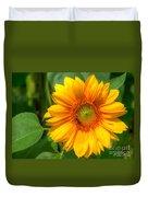 Sunflower Smile Duvet Cover