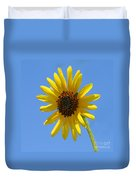 Sunflower Square Duvet Cover