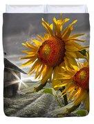 Sunflower Watch Duvet Cover
