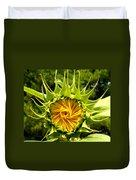 Sunflower Whirl Duvet Cover