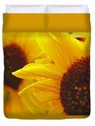 Sunflower Yellow Duvet Cover
