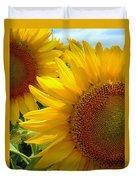Sunflowers #1 Duvet Cover