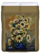 Sunflowers Fantasy Duvet Cover