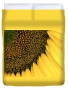 Sunflowers Of Summer Duvet Cover