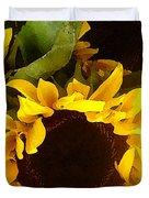 Sunflowers Tall Duvet Cover