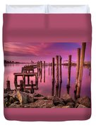 Sunk In Twilight Duvet Cover
