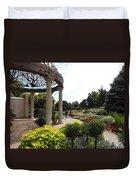 Sunken Garden Ironworks 2 Duvet Cover