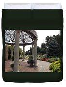 Sunken Garden Ironworks Duvet Cover